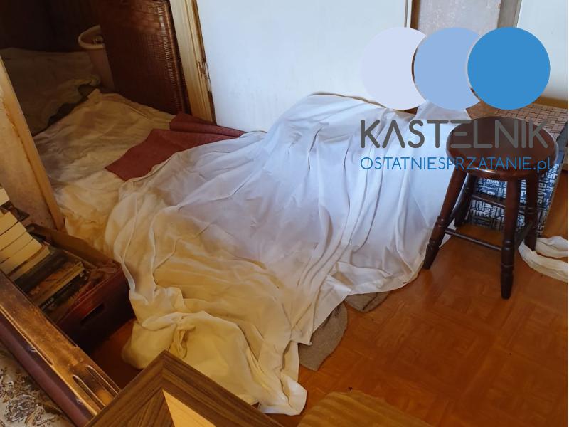 Sprzątanie domu jednorodzinnego po zmarłej osobie Zawiercie