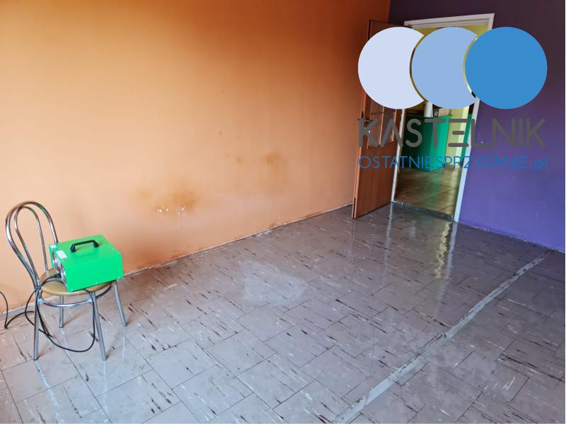 Czyszczenie opolskiego mieszkania po rozkładzie zwłok