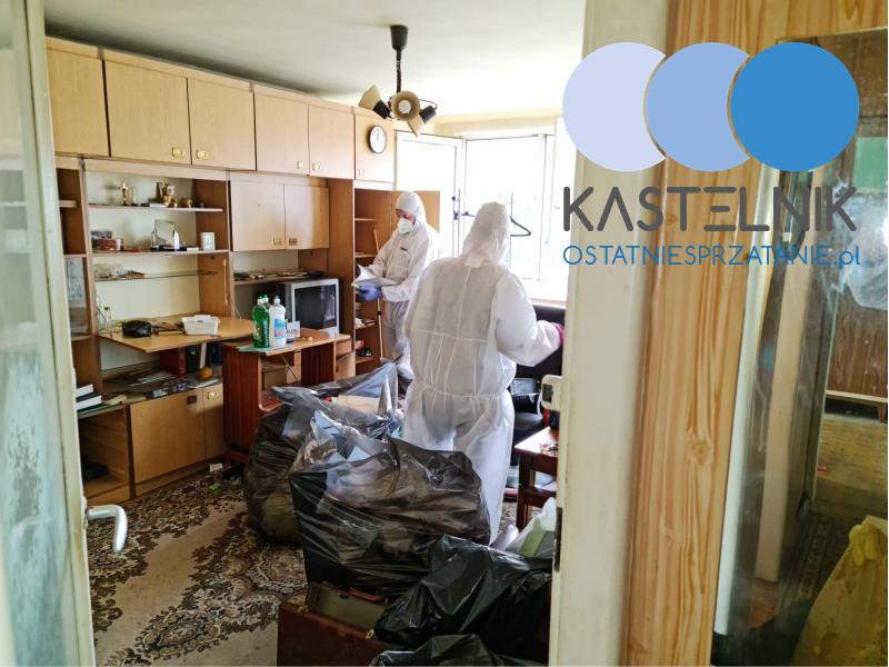 Sprzątanie po śmierci w mieszkaniu Częstochowa