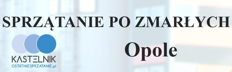 Sprzątanie po zmarłym Opole