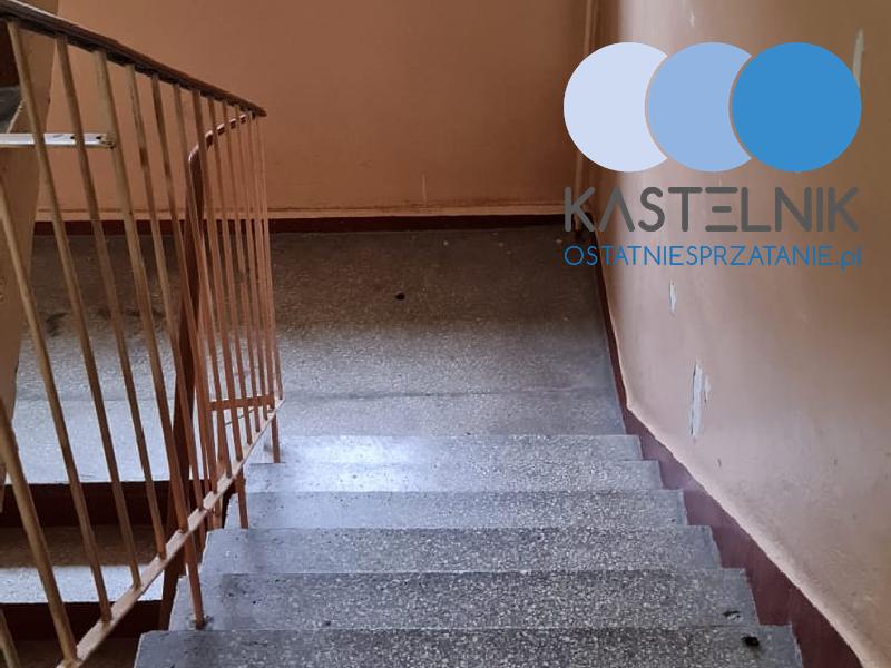 Usuwanie charakterystycznego zapachu śmierci z klatki schodowej Rybnik Boguszowice