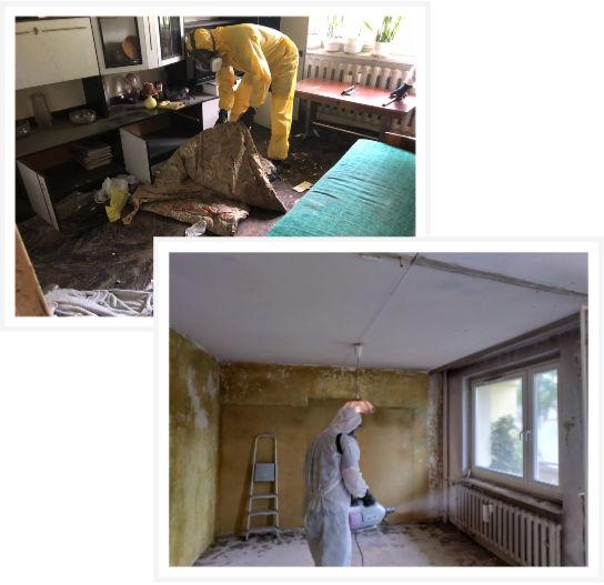 Sprzątanie po zmarłych w Radomiu