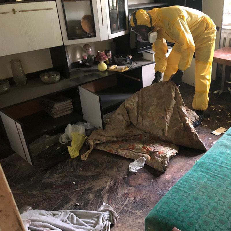 czyszczenie po zgonach Legnica