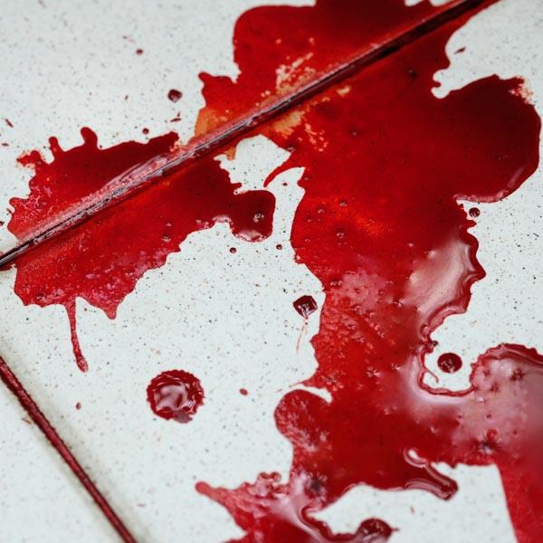 dezynfekcja krwi po wypadku w Namysłowie