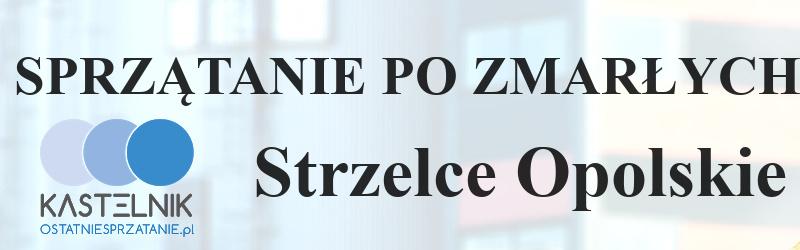 Czyszczenie po zgonie w Strzelcach Opolskich