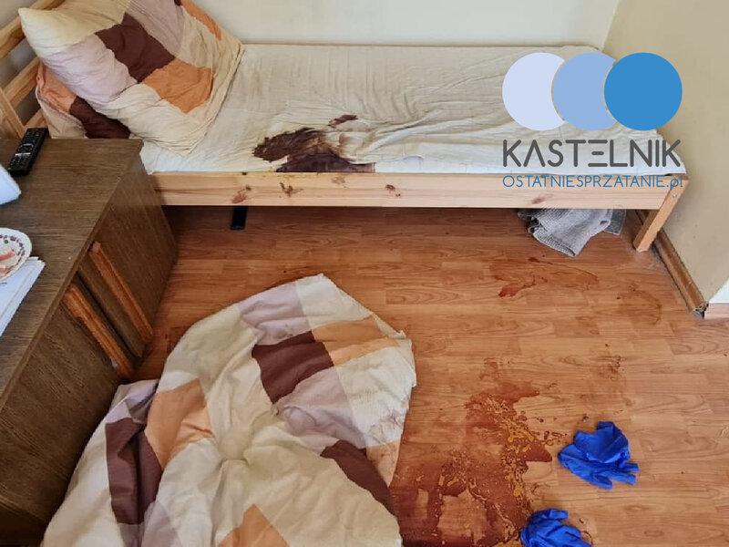Sprzątanie po zgonie Katowice Koszutka