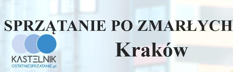 Sprzątanie po zmarłym w Krakowie
