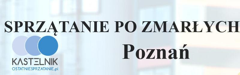 Sprzątanie po zmarłym w Poznaniu