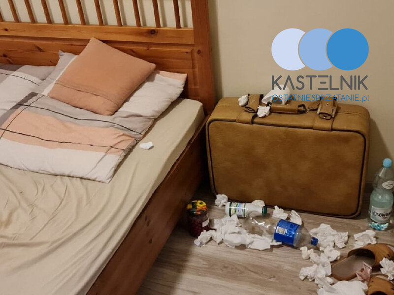 Sprzątanie po zgonie w mieszkaniu w Bełchatowie na Osiedlu Słonecznym