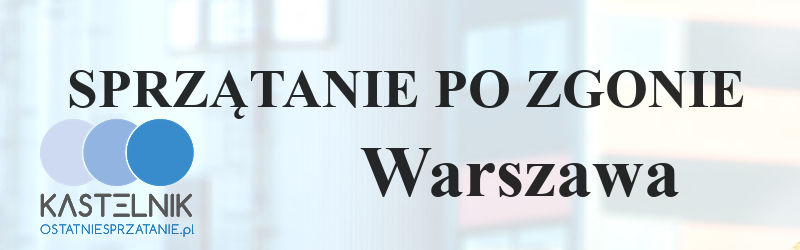 Sprzątanie po zgonach Warszawa