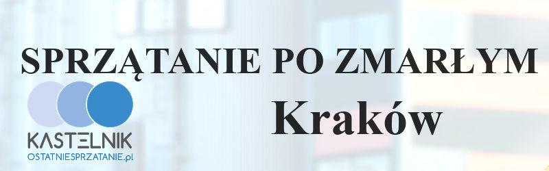 Sprzątanie po zmarłych w Krakowie