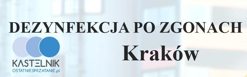 Sprzątanie po zmarłych Kraków