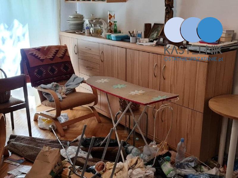 Sprzątanie po zmarłej w Kaliszu