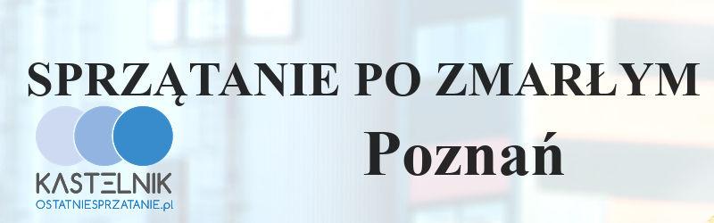 Sprzątanie po zmarłych w Poznaniu