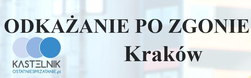 dezynfekcja po zgonach w Krakowie