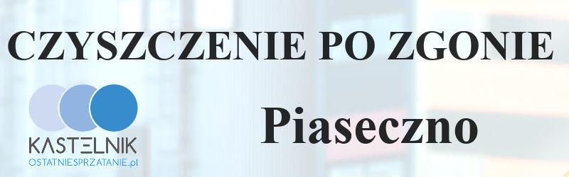 Sprzątanie po zgonach w Piasecznie